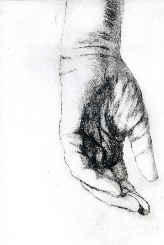 Une main gauche