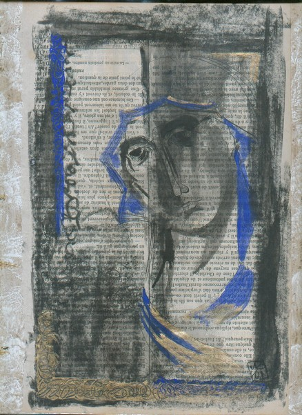 Icon on newsprint 01
